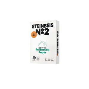 Kopierpapier Recycling Steinbeis Trend White, A3, 80g, 80er-Weiße, 500 Blatt