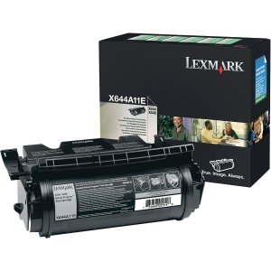 Rückgabetoner Lexmark X644A11E, Reichweite: 10.000 Seiten, schwarz
