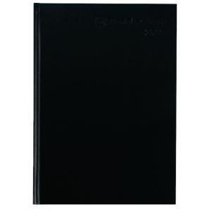Buchkalender 2019 Timesystem 962411, 1 Woche / 2 Seiten, A4, schwarz