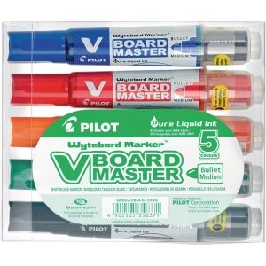 Boardmarker Pilot 5080 V-Board Master, Rundspitze, Strichst. 2,3mm, 5er Etui