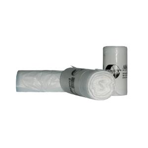 Mülleimerbeutel Deiss 36020, Maße: 460 x 520mm, Füllmenge: 18l, weiß, 50 Stück