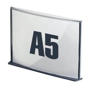 Infotafel Paperflow SA5.11, Größe: A5, anthrazit