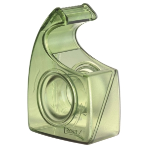 Handabroller Tesa 57955, für 19mm x 10m, transparent grün