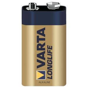Batterie Varta 4122, E-Block, 6LR61, 9 Volt, Longlife Extra