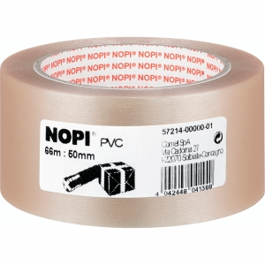Packband Nopi 57214, 50mm x 66m, transparent