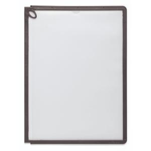 Sichttafeln Durable 5590 SHERPA PANEL PLUS, A4, schwarz, 5 Stück