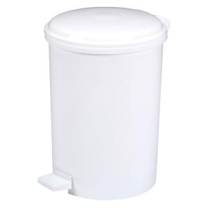 Tretabfalleimer Rossignol 29197, Fassungsvermögen: 40 Liter, weiß