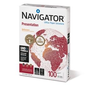 Kopierpapier Navigator Presentation, A4, 100g, weiß, 500 Blatt