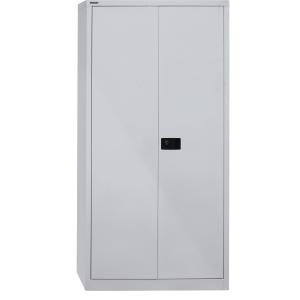 Schrank Bisley E782A0445645, mit Flügeltüren, 4 Böden, Maße: 195x91,4x40cm, grau