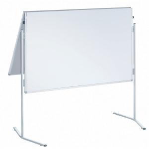 Moderationswand Franken ECO-UMTKGR, Maße: 150 x 120cm, kartonkasch., mit Rollen