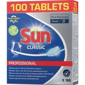 Spülmaschinentabs Sun Professional 2 Phasen, 100 Tabs