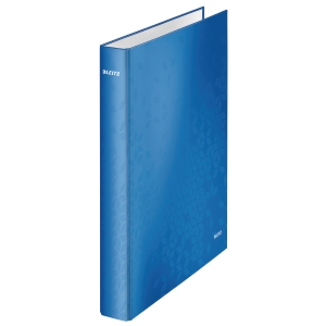 Ringbuch Leitz 4241, A4, 2-Ringe, Ringdurchmesser: 25mm, blau metallic