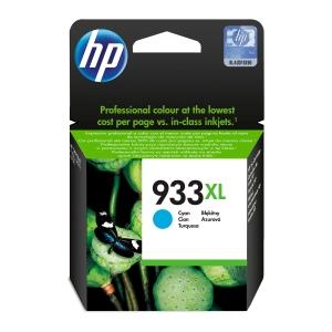 Tintenpatrone HP CN054AE - 933XL, Reichweite: 825 Seiten, cyan