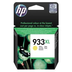 Tintenpatrone HP CN056AE - 933XL, Reichweite: 825 Seiten, gelb