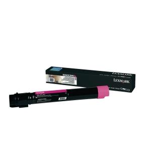 Toner Lexmark X950X2MG, Reichweite: 22.000 Seiten, magenta