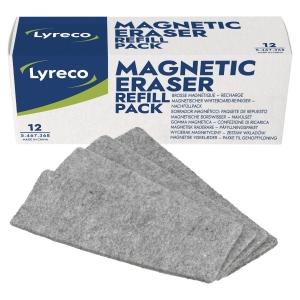 Löschpapier Lyreco AMWER012LYR, für Lyreco Tafellöscher, 12 Stück