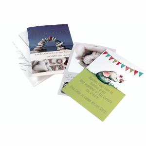 Anlasskarten A. Boss 90993, mit Briefumschlag, sortiert, 10 Stück