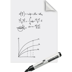 Folienrolle Legamaster Magic Chart 159100, elektrostatisch haftend, blanko, 25Bl