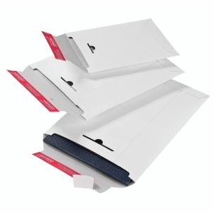 Versandtasche Colompac CP012.05, C4, ohne Fenster, Selbstklebung, 109g, weiß