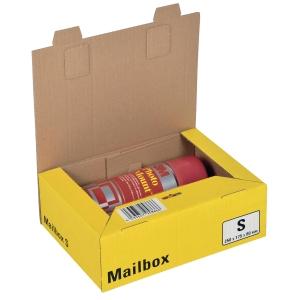 Versandbox Dinkhauser CP098.82, Innenmaße: 249 x 175 x 79mm, S, gelb