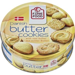 Gebäck Al Dente, Butter Cookies, Serviereinheit mit 500g