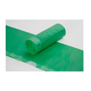 Zugbandsack Deiss 52801, Maße: 640x710+50mm, grün, 20 Stück