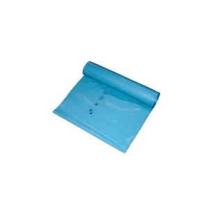 Müllbeutel Deiss, Maße: 65 x 135cm, Fassungsvermögen: 240l, blau, 100 Stück