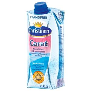 Stilles Wasser Christinen Carat, ohne Kohlensäure, 0,5 Liter x 24 Stück