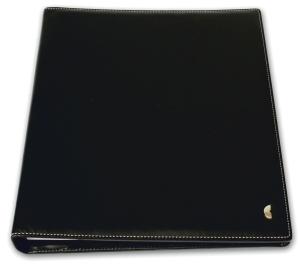 Ringbuch Chronoplan 50867 Mobil, Office Slim Einsteiger, A4, Kunstleder, schwarz