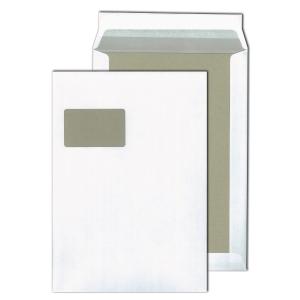 Versandtaschen Blessof 30022359 C4 229x324mm m. Fenster Papprückwand HK we 100St