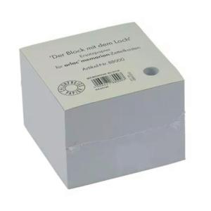 Notizzettel Arlac 880, für Zettelkästen, Maße: 10x10cm, weiß, 600 Blatt