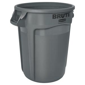 Mülleimer Rubbermaid FG263200, Brute, Fassungsvermögen: 121 Liter, grau