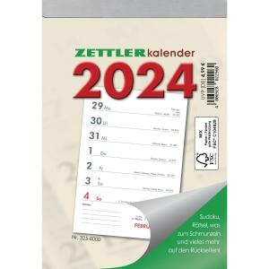 Wochenabreißkalender 2019 Zettler 325, 1 Woche / 1 Seite, 105x150mm