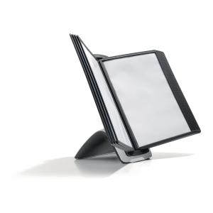Sichttafel-Tischständer Durable Sherpa 5855, inklusive 10 Tafeln