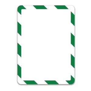 Infotasche Tarifold 194925, Magneto, A4, magnetisch, grün/weiß, 2 Stück