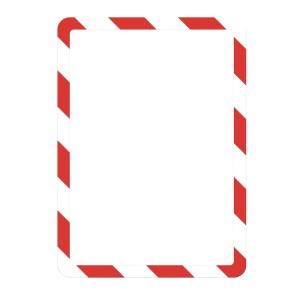 Infotasche Tarifold 194973, Magneto, A4, selbstklebend, rot/weiß, 2 Stück