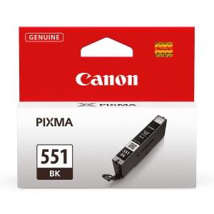 Tintenpatrone Canon 6508B001 - CLI-551BK, Reichweite: 1.105 Seiten, schwarz