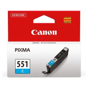 Tintenpatrone Canon 6509B001 - CLI-551C, Reichweite: 304 Seiten, cyan