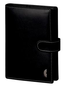 Ringbuch Chronoplan 50118 Standard Mini Einsteiger, Kunstleder, mit Inhalt, swz