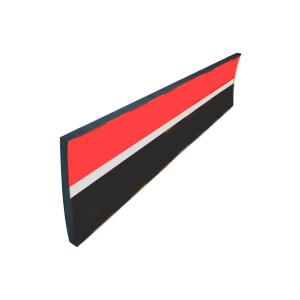 Wandschutz Viso PU352RBG, Maße: 5000 x 300 x 20mm, rot/weiß/schwarz