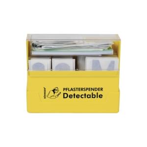 Pflasterspender Söhngen 1009981 Detectable, aus ABS Kunststoff, gefüllt, gelb