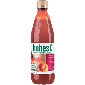 Hohes C Multivitamin, 0,5l PET-Flasche, 12 Stück
