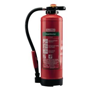 Feuerlöscher Gloria SE+P6PRO, Schaum-Auflade-Löscher, für Büroräume, 6 Liter