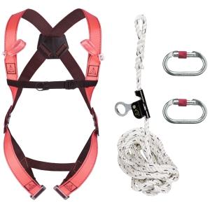 Absturzsicherungsset Deltaplus ELARA150, mit Gurt und Seil