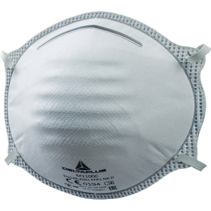 Atemschutzmaske Deltaplus M1100C, Typ: FFP1, 20 Stück