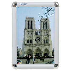Plakatrahmen Franken BS0701, A4, Maße: 240 x 326 x 12mm, Alu silber