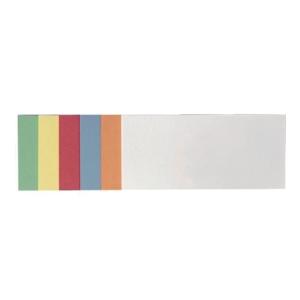 Moderationskarten Franken UMZS1020, sk, 20,5 x 9,5mm, Rechteck, sort., 300 Stück