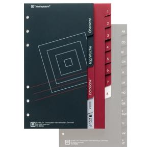Hauptregister Timesystem 44836, Compact, 13teilig