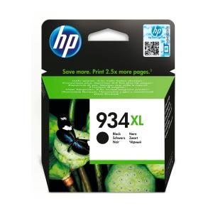 Tintenpatrone HP C2P23AE - 934XL, Reichweite: 1000 Seiten, schwarz