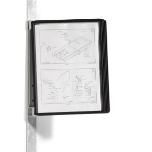 Sichttafel-Wandelement Durable 5914 VARIO wall 5, inklusive 5 Tafeln, schwarz